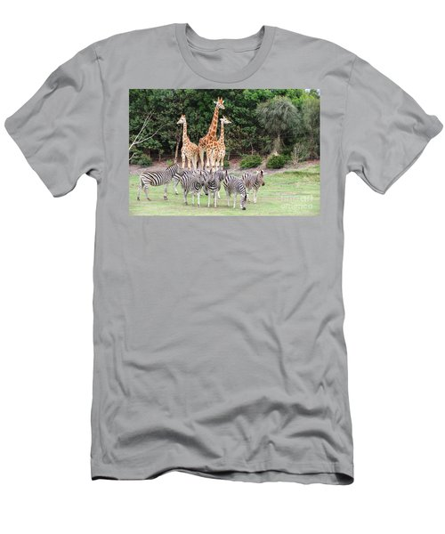 Animal Kingdom I Men's T-Shirt (Athletic Fit)