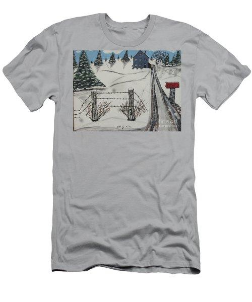 Anna Koss Farm Men's T-Shirt (Slim Fit) by Jeffrey Koss