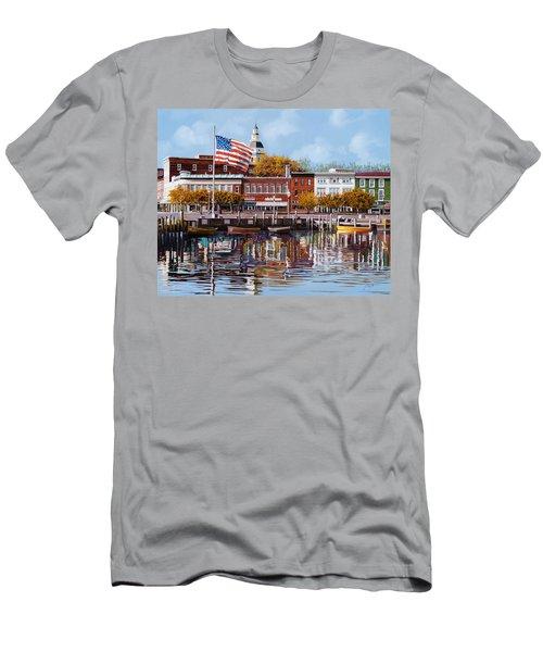 Annapolis Men's T-Shirt (Athletic Fit)