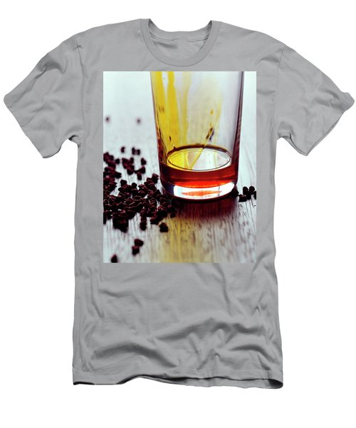 Annatto Seeds With A Glass Men's T-Shirt (Athletic Fit)