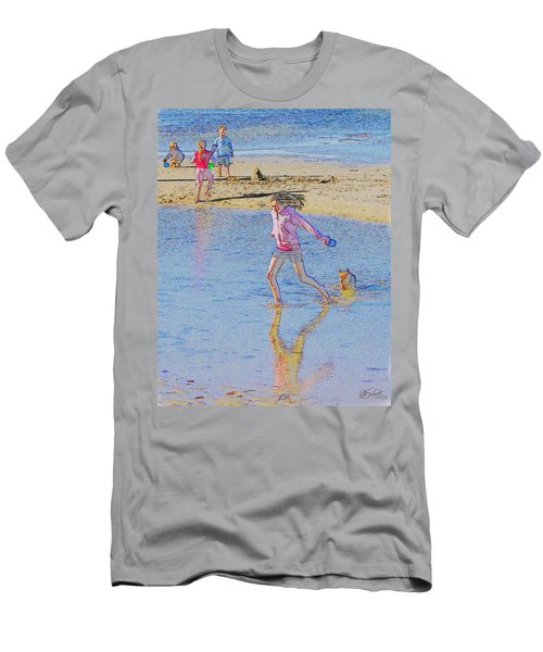 Another Day At The Beach Men's T-Shirt (Athletic Fit)