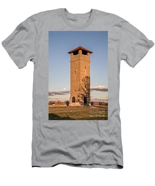 Antietam's Stone Tower Men's T-Shirt (Athletic Fit)
