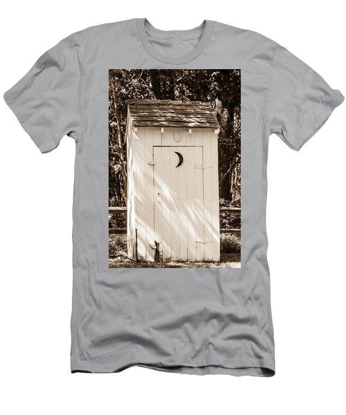 Antique Outhouse Men's T-Shirt (Athletic Fit)