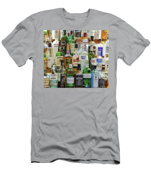 Anyone For A Drink Men's T-Shirt (Slim Fit) by Maj Seda