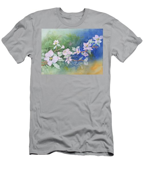 Apple Blossoms 2 Men's T-Shirt (Athletic Fit)