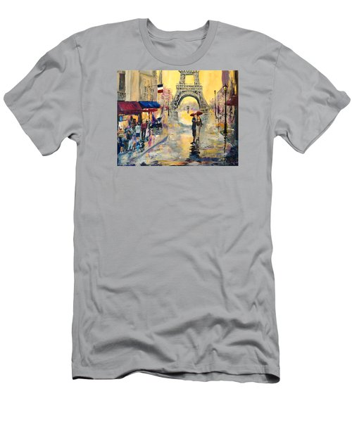 April In Paris Men's T-Shirt (Athletic Fit)