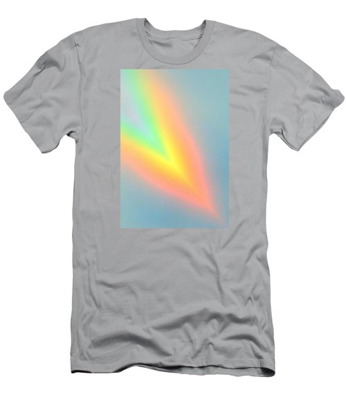 Men's T-Shirt (Slim Fit) featuring the photograph Arc Angle Two by Lanita Williams