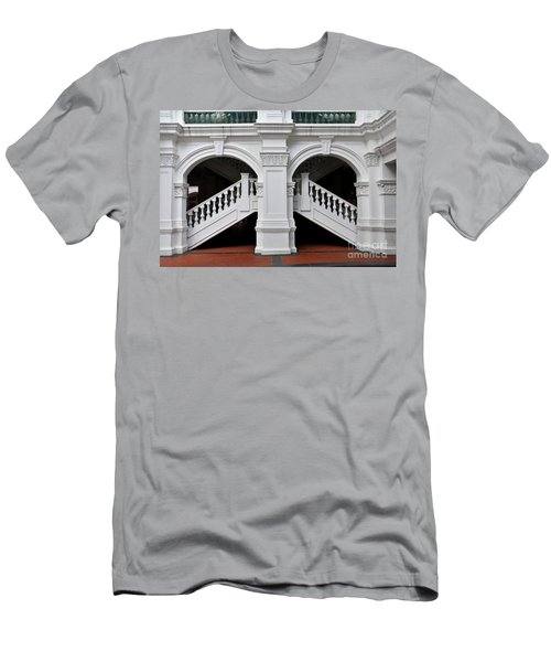 Arch Staircase Balustrade And Columns Men's T-Shirt (Athletic Fit)