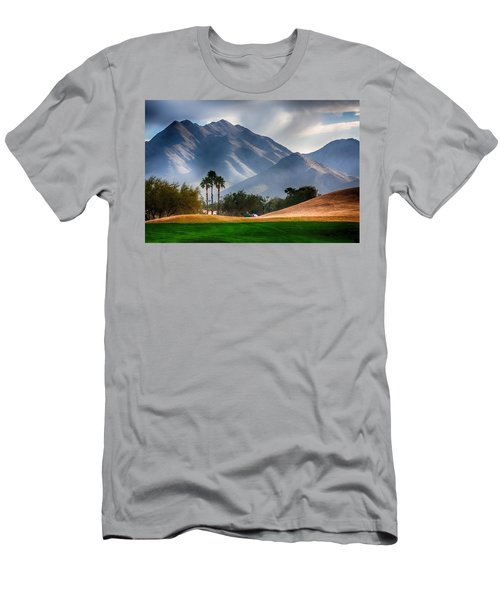 Arizona Sunrise Golfing Men's T-Shirt (Athletic Fit)