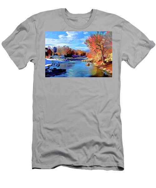 Arkansas River In Salida Co Men's T-Shirt (Athletic Fit)