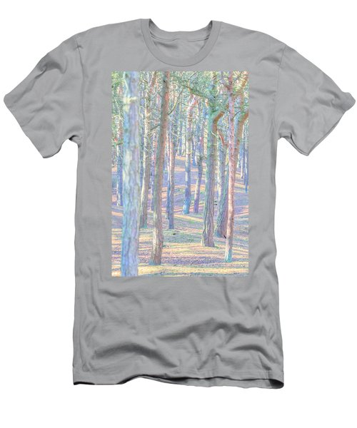 Men's T-Shirt (Athletic Fit) featuring the photograph Artistic Trees by Susan Leonard