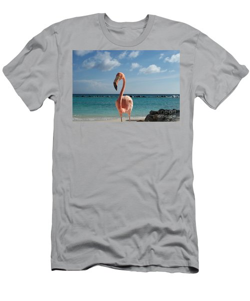 Aruba Hairy Eyeball Men's T-Shirt (Athletic Fit)