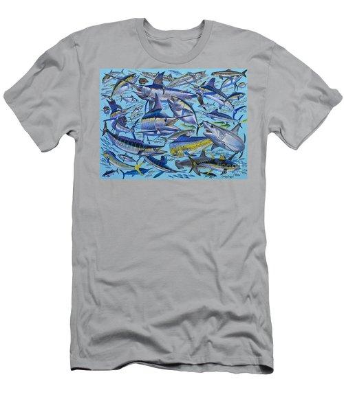 Atlantic Gamefish Off008 Men's T-Shirt (Athletic Fit)