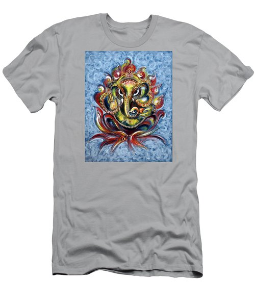 Aum Ganesha Men's T-Shirt (Slim Fit) by Harsh Malik