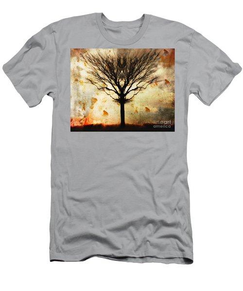 Autum Wind Men's T-Shirt (Athletic Fit)
