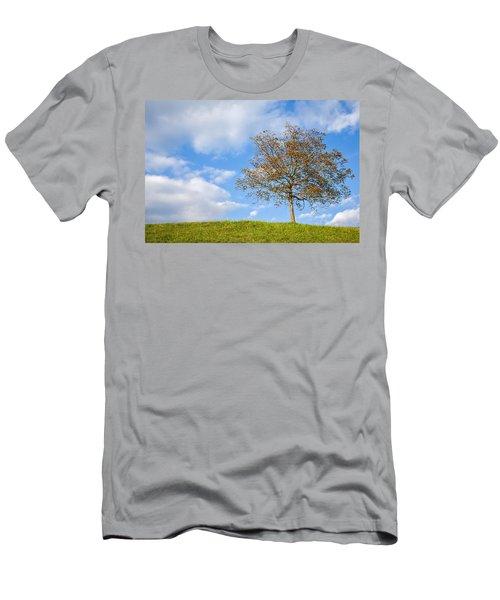 Autumn Begins Men's T-Shirt (Athletic Fit)