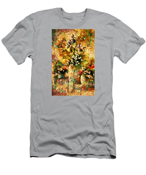 Autumn Bounty - Abstract Expressionism Men's T-Shirt (Athletic Fit)