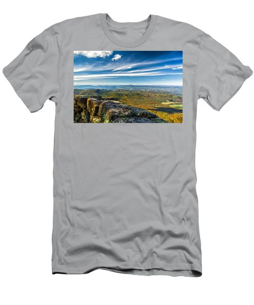 Autumn Colors In The Blue Ridge Mountains Men's T-Shirt (Athletic Fit)