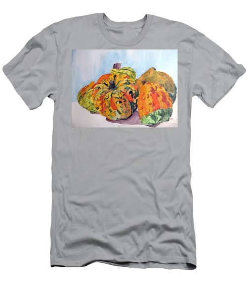 Autumn Gourds Men's T-Shirt (Athletic Fit)