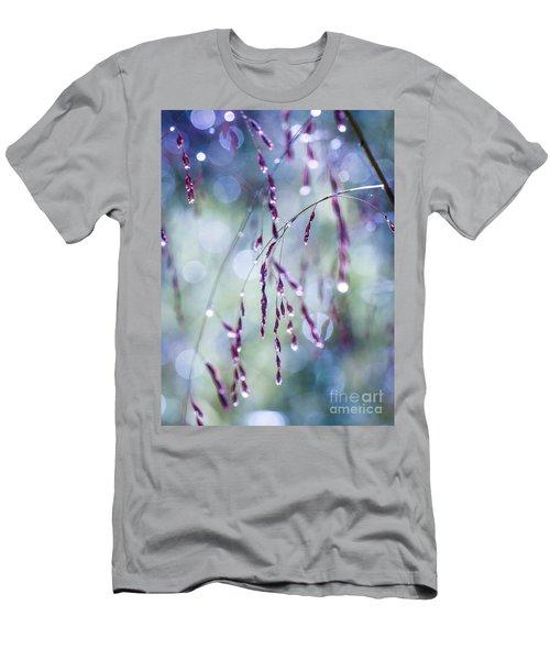Autumn Grasses Men's T-Shirt (Athletic Fit)