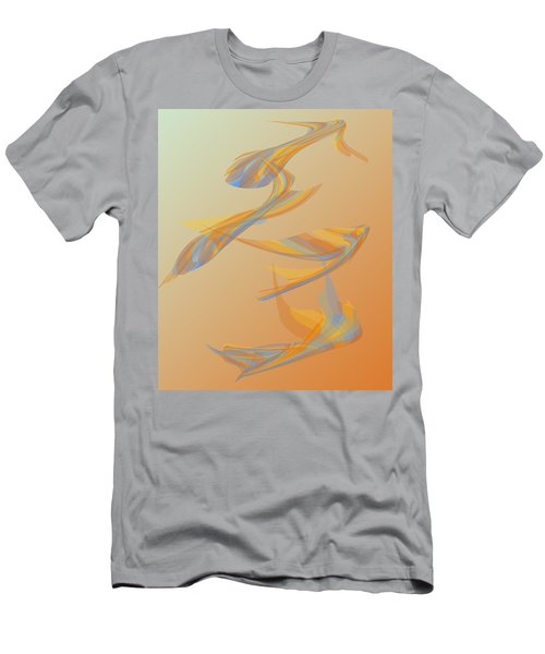 Men's T-Shirt (Slim Fit) featuring the digital art Autumn Migration by Stephanie Grant