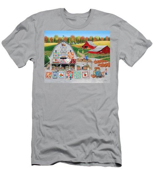 Autumn Quilts Men's T-Shirt (Athletic Fit)