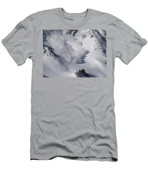 Avalanche Iv Men's T-Shirt (Slim Fit) by Bill Gallagher