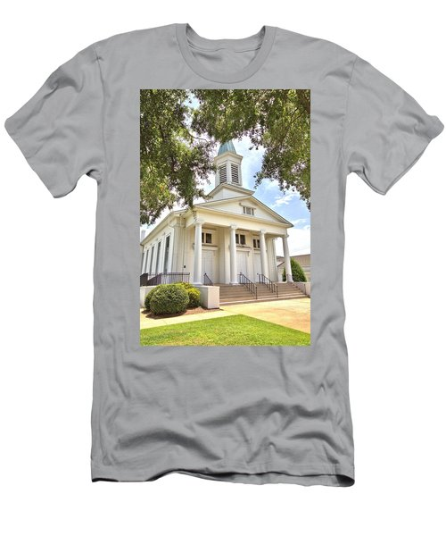 Men's T-Shirt (Slim Fit) featuring the photograph Awaiting The Congregation by Gordon Elwell