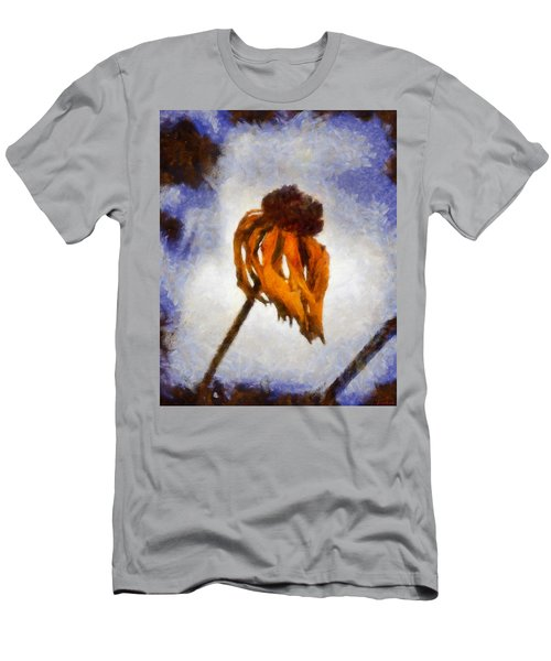 Men's T-Shirt (Slim Fit) featuring the painting Awaken A New Life by Joe Misrasi