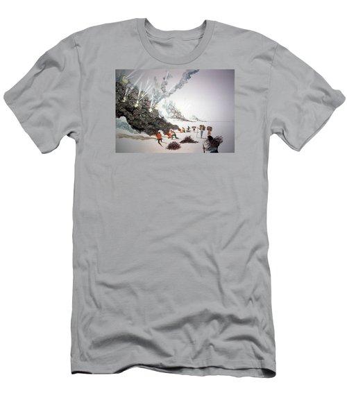 Awakenings Men's T-Shirt (Slim Fit) by Lazaro Hurtado