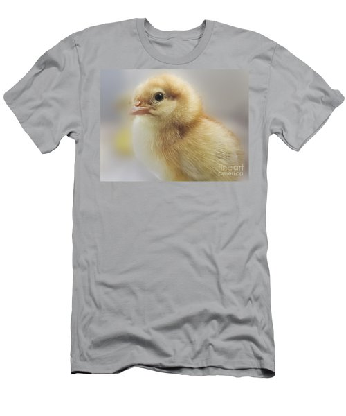 Baby Chicken Men's T-Shirt (Athletic Fit)