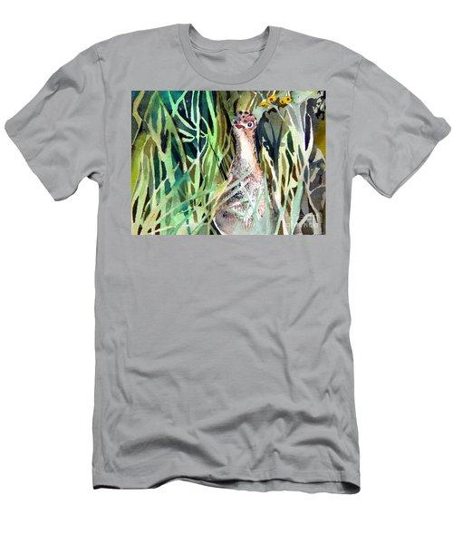 Baby Wild Turkey Men's T-Shirt (Slim Fit) by Mindy Newman