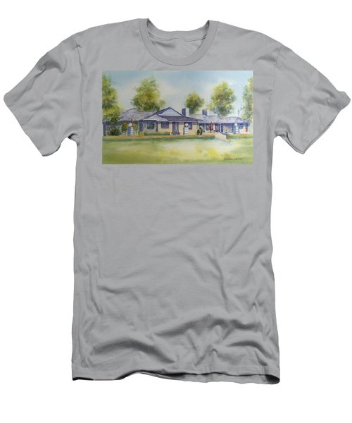 Back Of House Men's T-Shirt (Slim Fit) by Debbie Lewis