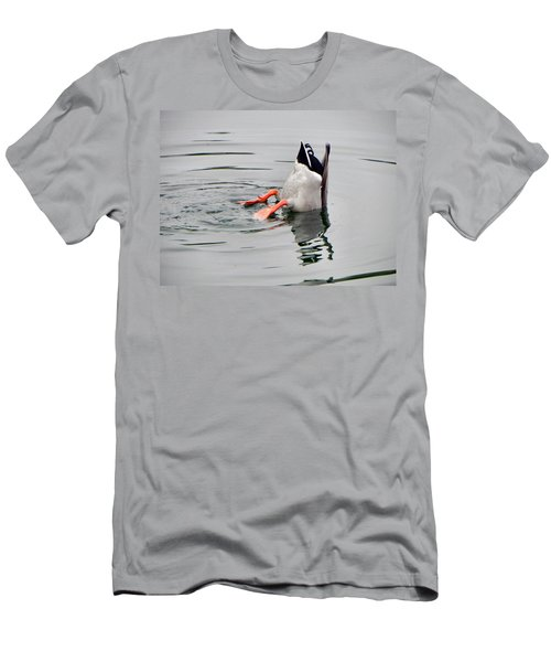 Men's T-Shirt (Slim Fit) featuring the photograph Bad Landing by Deb Halloran
