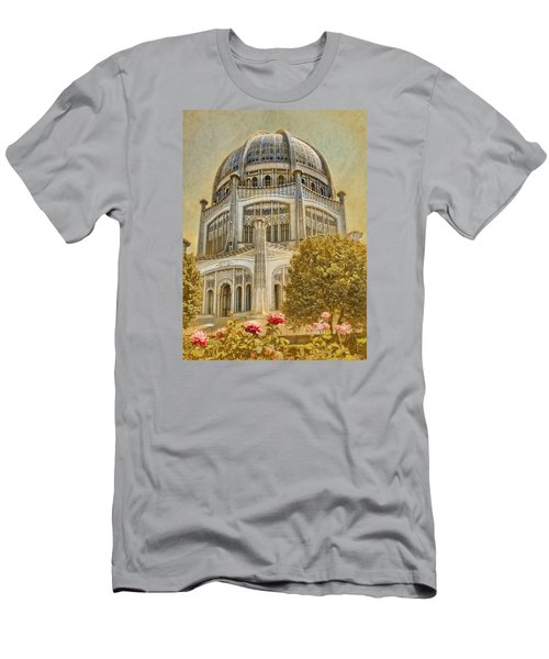 Baha'i  Temple In Wilmette Men's T-Shirt (Athletic Fit)