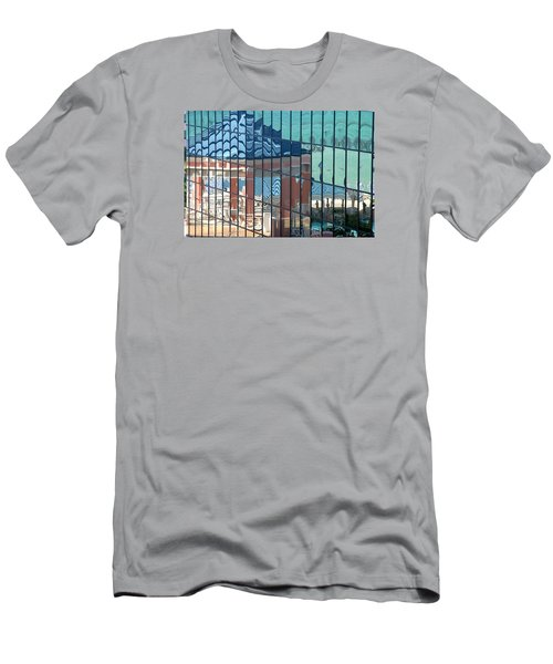 Bahamas Beach Pavilion Men's T-Shirt (Athletic Fit)
