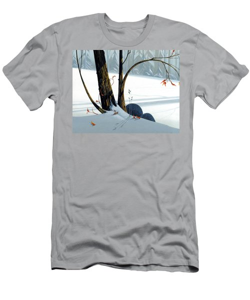 Balancing Act  Men's T-Shirt (Slim Fit) by Michael Humphries