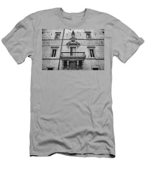 Balcony In Assisi Men's T-Shirt (Athletic Fit)