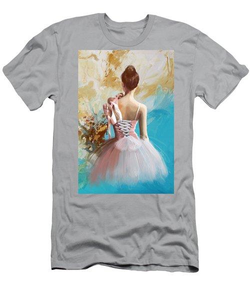Ballerina's Back  Men's T-Shirt (Athletic Fit)