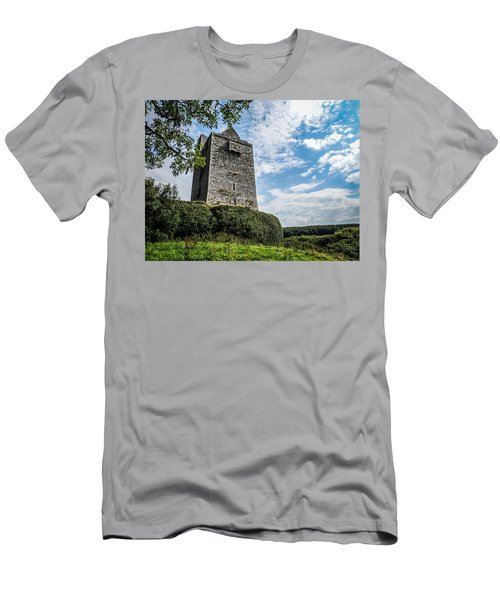 Ballinalacken Castle In Ireland's County Clare Men's T-Shirt (Athletic Fit)