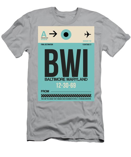 Baltimore Airport Poster 1 Men's T-Shirt (Athletic Fit)