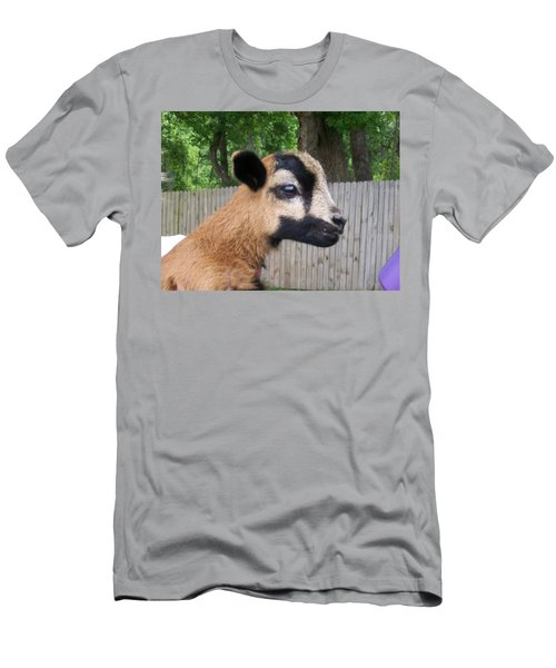 Men's T-Shirt (Slim Fit) featuring the photograph Bambi by Belinda Lee