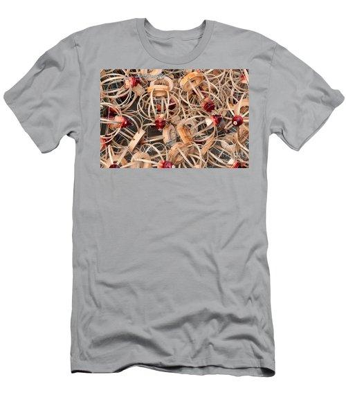Bamboo Lantern Frames 02 Men's T-Shirt (Athletic Fit)