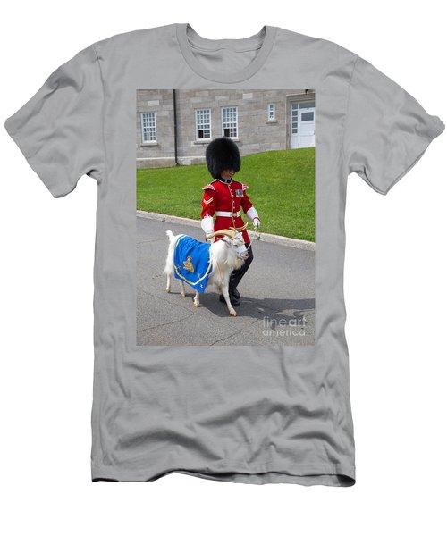 Baptiste The Goat Men's T-Shirt (Athletic Fit)