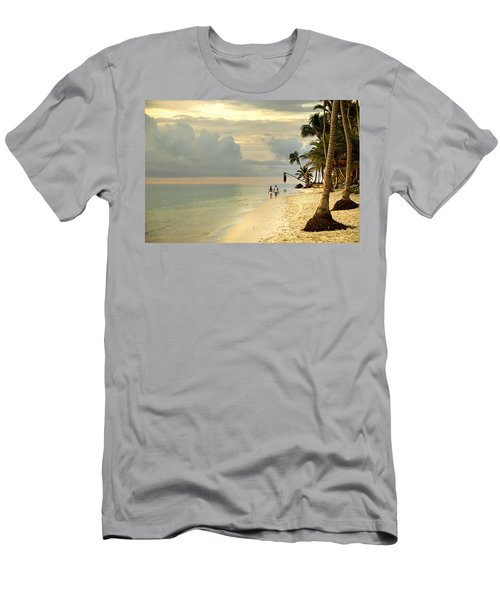 Barefoot On The Beach Men's T-Shirt (Athletic Fit)