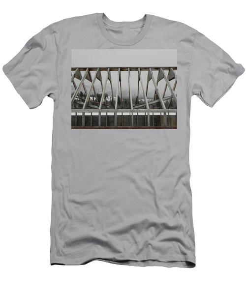 Barge Tent Men's T-Shirt (Athletic Fit)