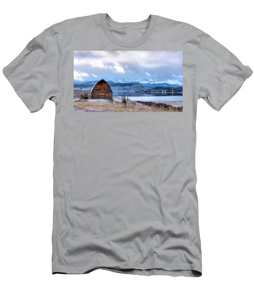 Barn At The Lake Men's T-Shirt (Athletic Fit)