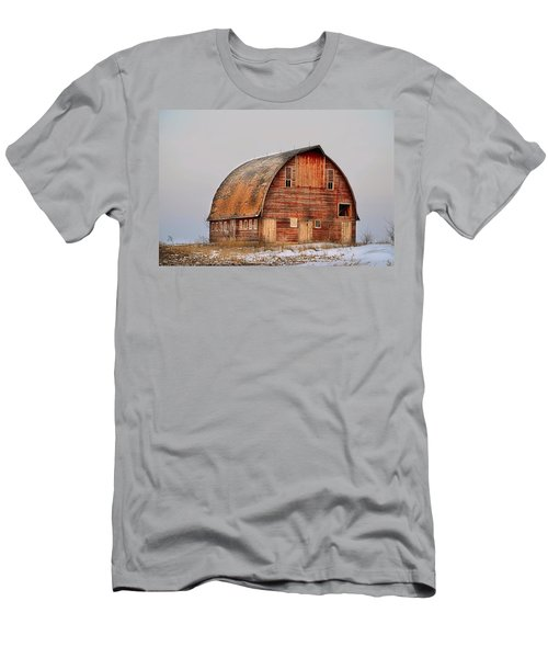 Barn On The Hill Men's T-Shirt (Athletic Fit)