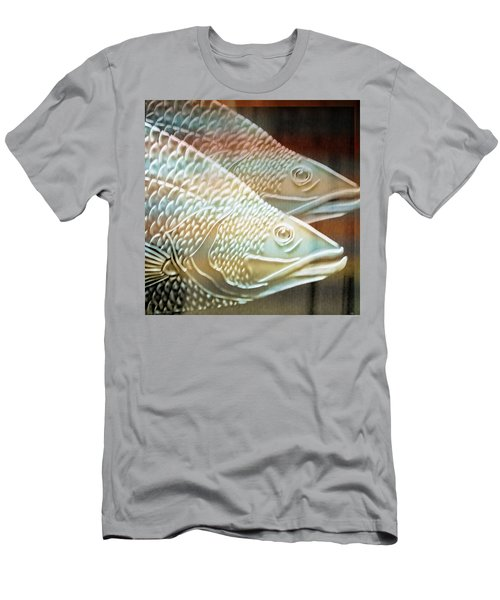 Barramundi Men's T-Shirt (Slim Fit) by Holly Kempe