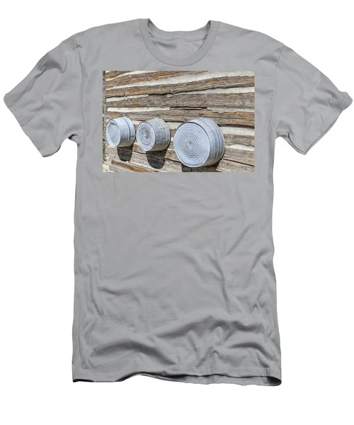 Men's T-Shirt (Athletic Fit) featuring the photograph Bath Time by Susan Leonard